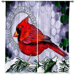 Decorative Window Treatments   Rachel Brown Cosmo Cardinal
