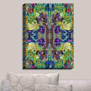 Decorative Canvas Wall Art   Rachel Brown - Dogadelic   Dogs Pups Animals Bright Colors