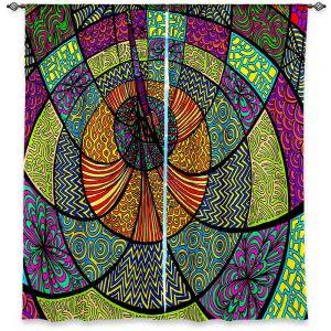 Decorative Window Treatments | Rachel Brown Drop in the Sea