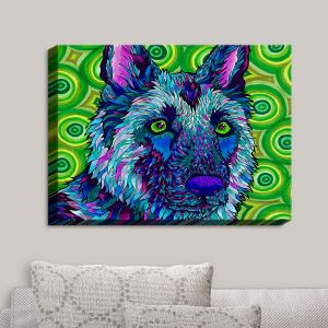 Decorative Canvas Wall Art | Rachel Brown - German Shepherd