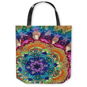 Unique Shoulder Bag Tote Bags | Rachel Brown Microcosm Mandala