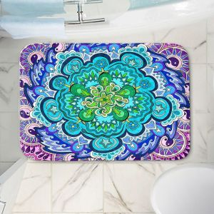 Decorative Bathroom Mats | Rachel Brown - Mystic Mandala