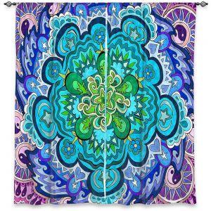 Decorative Window Treatments | Rachel Brown - Mystic Mandala