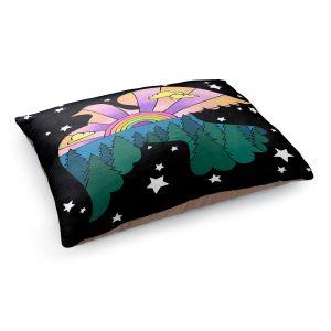 Decorative Dog Pet Beds   Rachel Brown - Peace On Earth   Rainbow Dove Bird