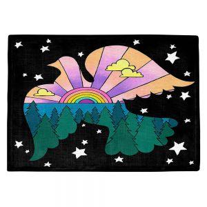 Countertop Place Mats | Rachel Brown - Peace On Earth | Rainbow Dove Bird