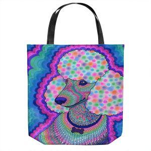 Unique Shoulder Bag Tote Bags   Rachel Brown - Poodle Princess   Animals Dogs