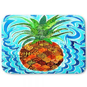 Decorative Bathroom Mats   Rachel Brown - Psychedelic Pineapple