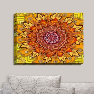 Decorative Canvas Wall Art | Rachel Brown - Revelation Mandala