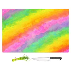 Artistic Kitchen Bar Cutting Boards | Rachel Brown - Reverie | Abstract
