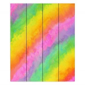 Decorative Wood Plank Wall Art   Rachel Brown - Reverie   Abstract