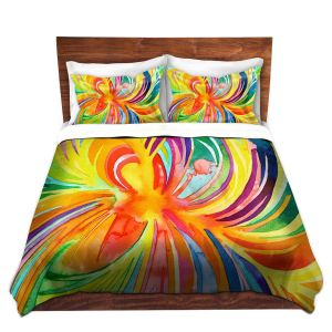 Artistic Duvet Covers and Shams Bedding | Rachel Brown - Seat of the Soul