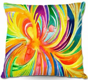 Throw Pillows Decorative Artistic | Rachel Brown Seat of the Soul