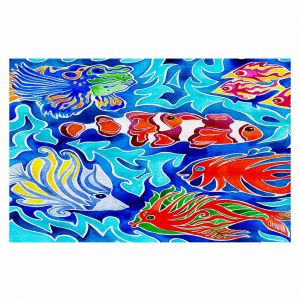 Decorative Floor Coverings | Rachel Brown Snorkeling