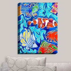 Decorative Canvas Wall Art   Rachel Brown - Snorkeling