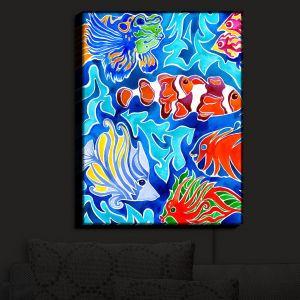 Nightlight Sconce Canvas Light | Rachel Brown's Snorkeling