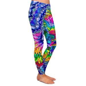Casual Comfortable Leggings | Rachel Brown Sunshine Daydream