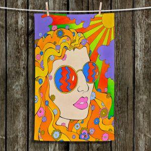 Unique Hanging Tea Towels   Rachel Brown - Sunshine Daydream 2
