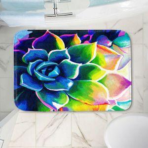 Decorative Bathroom Mats | Rachel Brown - Supplication Succulent
