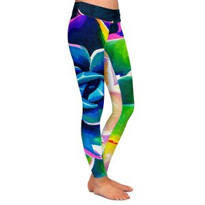 Casual Comfortable Leggings | Rachel Brown Supp Succulent