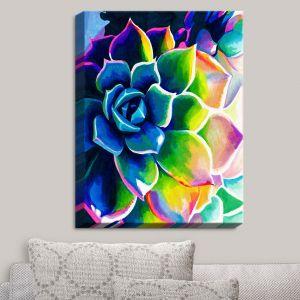 Decorative Canvas Wall Art | Rachel Brown - Supplication Succulent