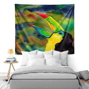 Artistic Wall Tapestry   Rachel Brown Toucan