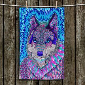 Unique Hanging Tea Towels | Rachel Brown - Wolfadelic 3