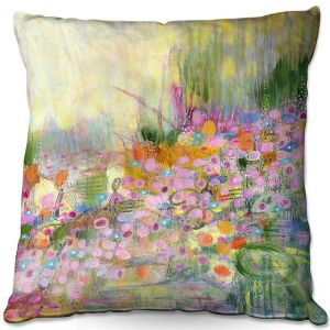 Throw Pillows Decorative Artistic | Rina Patel Art - Poppies | Abstract Floral Flower