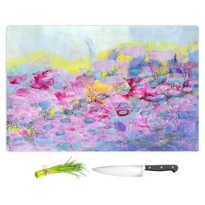 Artistic Kitchen Bar Cutting Boards | Rina Patel Art - Spring Has Sprung 1 | Abstract Floral Flower