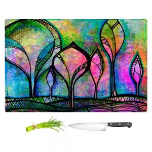 Artistic Kitchen Bar Cutting Boards | Robin Mead - After the Rain