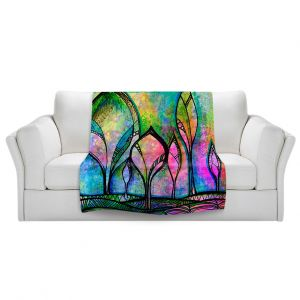 Artistic Sherpa Pile Blankets | Robin Mead After the Rain