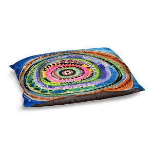 Decorative Dog Pet Beds   Robin Mead - Attitude   Abstract Geometric Pattern