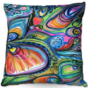 Decorative Outdoor Patio Pillow Cushion | Robin Mead - Be the Light | Insects Bugs Nature