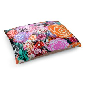Decorative Dog Pet Beds | Robin Mead - Botanical Dream | Floral Pattern Flowers Nature