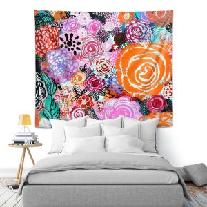 Artistic Wall Tapestry | Robin Mead - Botanical Dream | Floral Pattern Flowers Nature