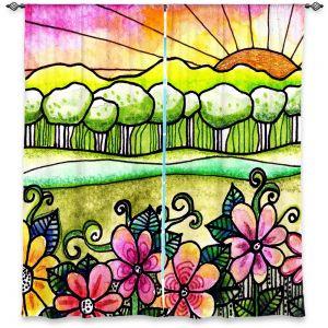 Decorative Window Treatments | Robin Mead Bright Horizon