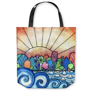 Unique Shoulder Bag Tote Bags |Robin Mead - Change Of Seasons