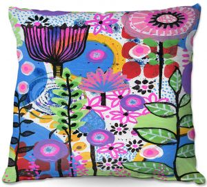 Decorative Outdoor Patio Pillow Cushion | Robin Mead - Changes