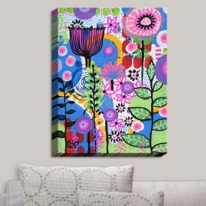 Decorative Canvas Wall Art | Robin Mead - Changes | Flowers Plants Colorful