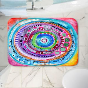 Decorative Bathroom Mats | Robin Mead - Chasing | Geometric Pattern