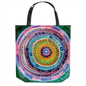 Unique Shoulder Bag Tote Bags | Robin Mead - Dont Settle | Geometric Pattern