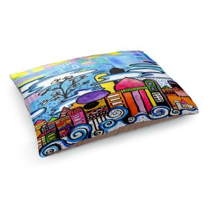 Decorative Dog Pet Beds | Robin Mead - Downtown | City Scape, Skyline