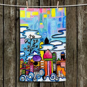 Unique Hanging Tea Towels | Robin Mead - Downtown