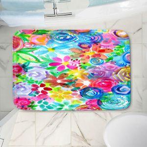 Decorative Bathroom Mats | Robin Mead - Esprit | flower simple outline nature