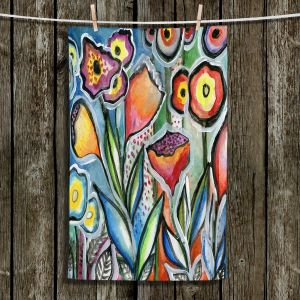 Unique Bathroom Towels | Robin Mead - Eternal 1 | flower still life