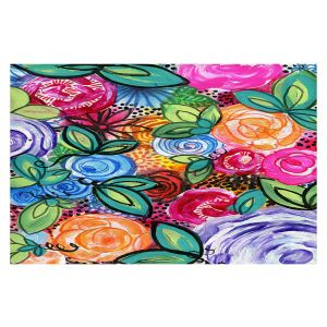 Decorative Floor Coverings   Robin Mead - Flores 1   Floral Pattern Flowers Nature