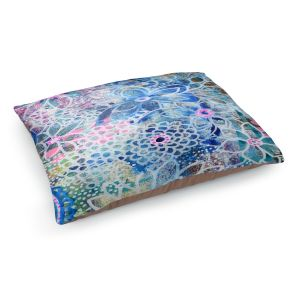 Decorative Dog Pet Beds | Robin Mead - Freesia | Floral Pattern Flowers Nature