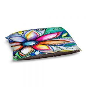 Decorative Dog Pet Beds | Robin Mead - From Within | Floral Flower Colorful