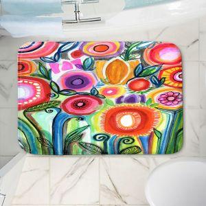 Decorative Bathroom Mats | Robin Mead - Gratitude | Nature Flowers