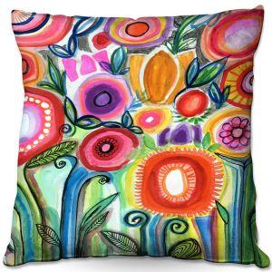 Throw Pillows Decorative Artistic | Robin Mead - Gratitude | Nature Flowers