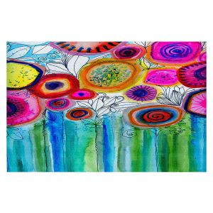 Decorative Floor Covering Mats | Robin Mead - Hand Picked | Nature Flowers